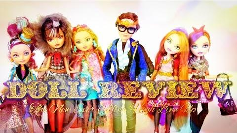 Doll Review Ever After High Update Legacy Day, Dexter Charming, Holly & Poppy