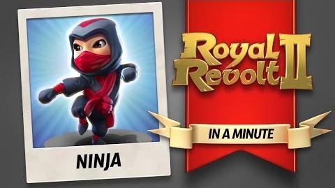 Royal Revolt 2 - The Ninja!