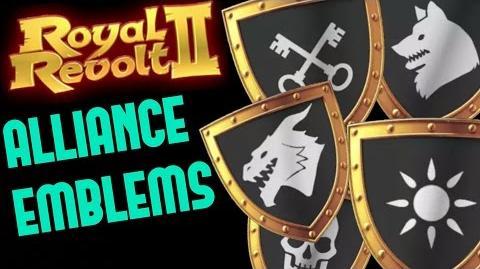 ROYAL REVOLT 2 - ALLIANCE EMBLEMS & TAX BONUS tutorial