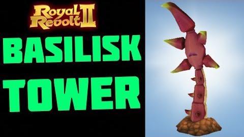 ROYAL REVOLT 2 - BASILISK TOWER TESTS