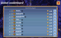 Leaderboard alliances boring