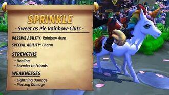 Royal Guardians - Sprinkle (Sweet as Pie Rainbow-Clutz)