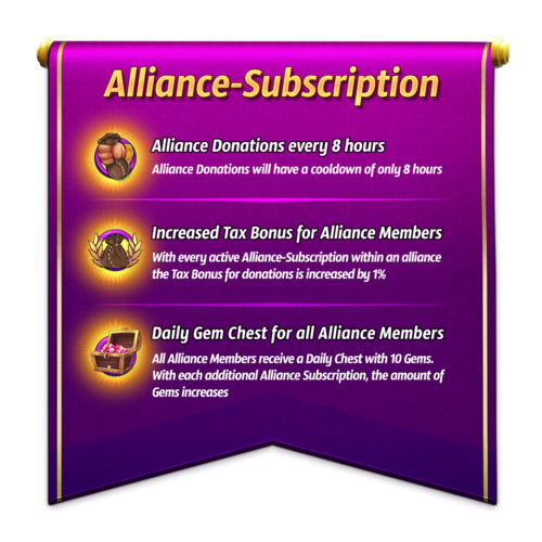 Alliance-Subscription