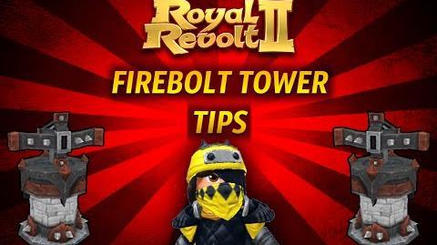 Royal Revolt 2 - Tutorial Firebolt Tower Tips!