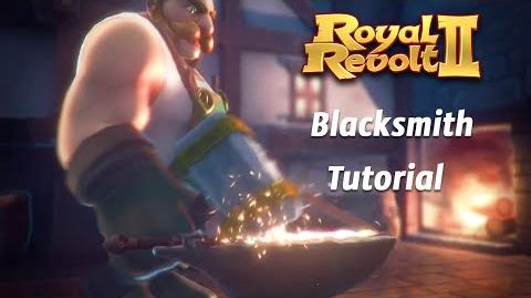 Royal Revolt 2 - Tutorial Blacksmith