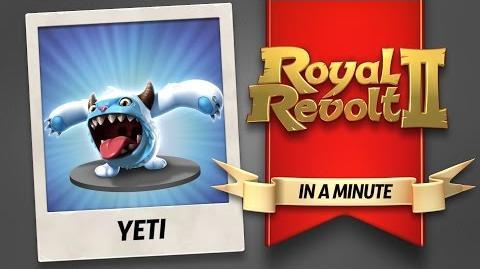 Royal Revolt 2 - The Yeti