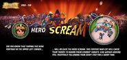 Pro Tip - Hero Scream