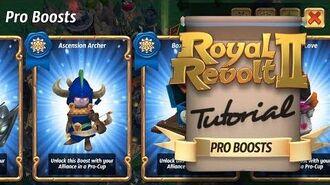 Royal Revolt 2 - Pro Boosts Tutorial