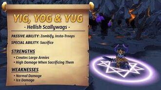 Royal Guardians - Yig, Yog & Yug (Hellish Scallywags)