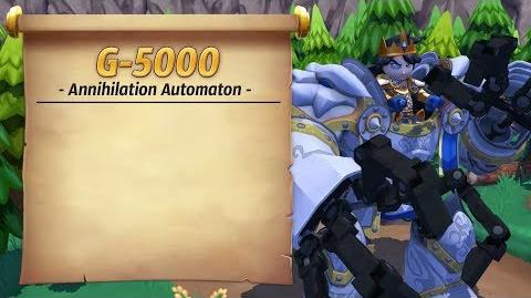 Royal Guardians - G-5000 (Annihilation Automaton)