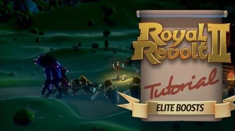 Royal Revolt 2 - Elite Boost Tutorial