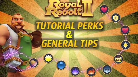 Royal revolt 2 - Tutorial Perks General Tips!