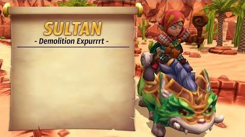 Royal Guardians - Sultan (Demolition Expurrrt)