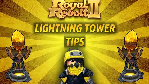 Royal Revolt 2 - Tutorial Lightning Tower Tips !