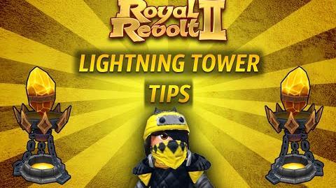 Royal Revolt 2 - Tutorial Lightning Tower Tips!