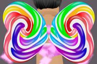 MINI Rainbow Candy Wings