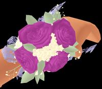 Elegance Rose Corsage