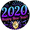 Happy New Years with Royale High 2020! Badge