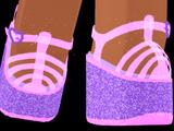 Glittering Jelly Platforms