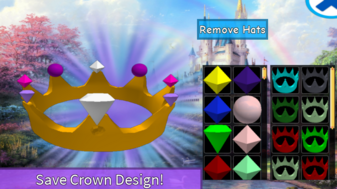 Crown Design Menu