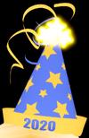 2020 Party Hat
