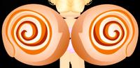 Warm Cinnamon Roll Wings