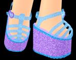 Glittering Jelly Platforms (Boy)