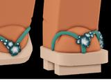 Cherry Blossom Geta Sandals