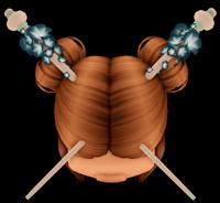 Cherry Blossom Hairpins