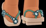 Cherry Blossom Geta Sandals (Boy)