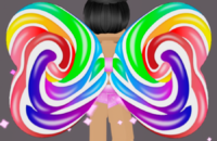 Rainbow Candy Wings
