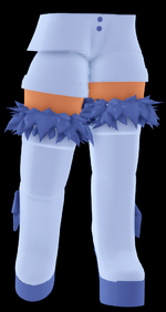 Thigh High Ice Princess Boots