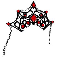 Shadow Empress Jeweled Crown