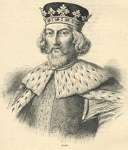 John of England - Illustration from Cassell's History of England - Century Edition - published circa 1902