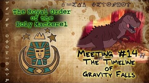THE TIMELINE OF GRAVITY FALLS The Royal Order of the Holy Mackerel