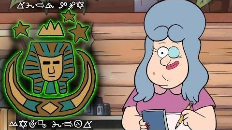 LAZY SUSAN GRAVITY FALLS The Royal Order of the Holy Mackerel