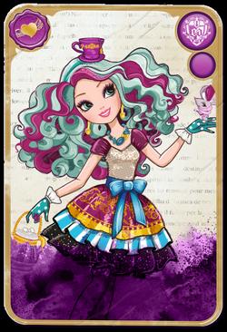 Madeline Hatter Card