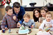 Prins Vincents og Prinsesse Josephines 1-års fødselsdag