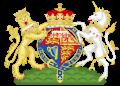 Coat of Arms of Elizabeth, Duchess of Edinburgh