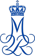 Royal Monogram of Margrethe II of Denmark