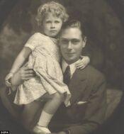 Elizabeth with George VI