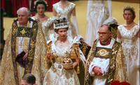 Elizabeth after her coronation