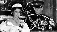 Elizabeth and Philip at the Opening of Canadian Parliament
