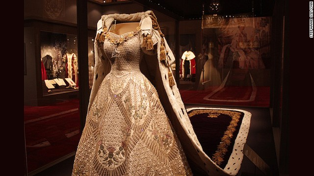 Coronation Gown of Elizabeth II