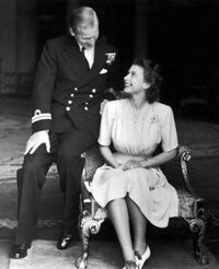 Elizabeth and Philip's engagement
