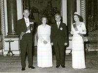 Elizabeth with Nicolae Ceaușescu