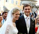 Wedding of Prince Amedeo of Belgium and Elisabetta Rosboch von Wolkenstein