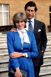 Engagement of Charles and Diana