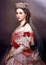 Empress Carlota of Mexico portrait