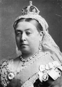 Photograph of Queen Victoria, 1882